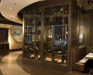 Interiors06 Houston Restaurant Winerack