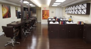 Interiors12 hair salon Yorkvile